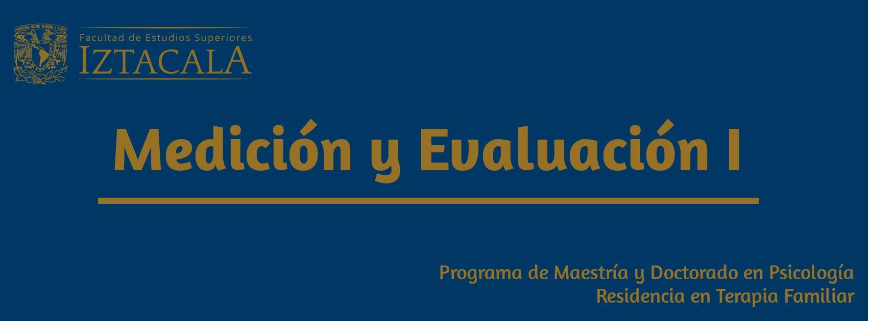 Medición y Evaluación    Viernes 10-13