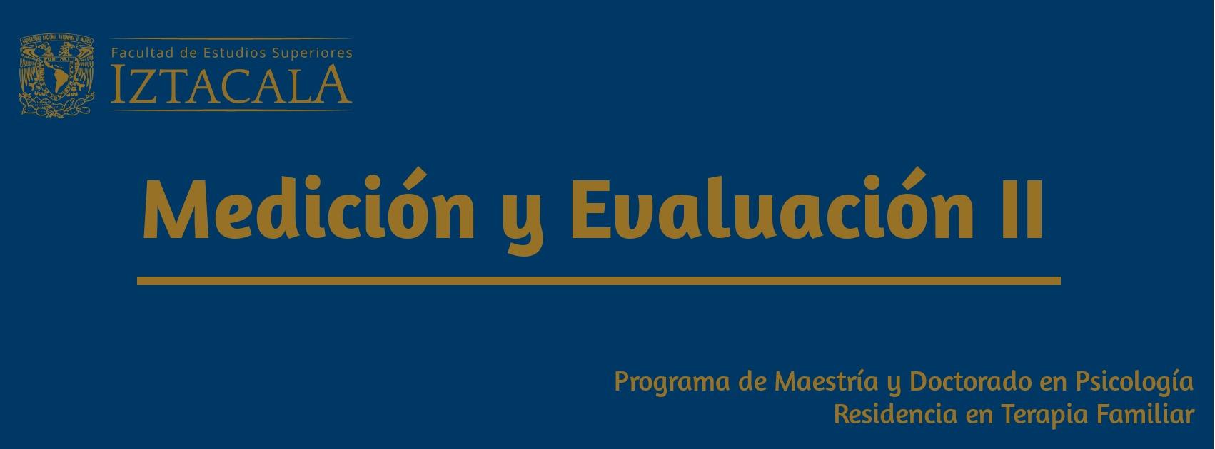 Seminario Medición y Evaluación II   Viernes 10-13